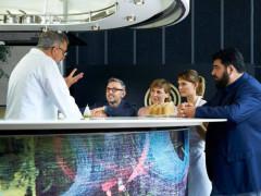 Mauro Uliassi ospite del programma televisivo masterchef All Stars