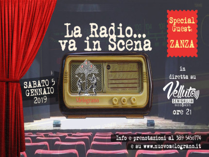 """La radio va in scena"""