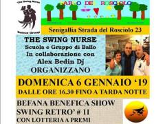Befana Benefica Swing Retrò Show