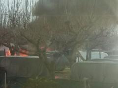 Incendio nel camping Domus di Senigallia