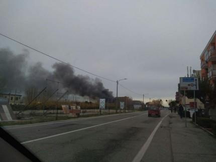Incendio al camping Domus di Senigallia