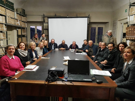 Giunta comunale all'Oliveriana di Pesaro