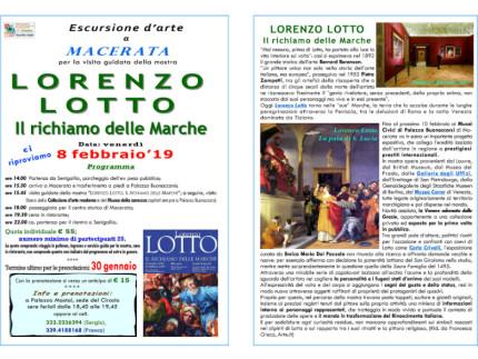 """""""Lorenzo Lotto. Il richiamo delle Marche""""."""
