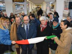 Inaugurazione del Treno della Memoria
