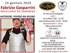 Incontro con Fabrizio Gasparrini all'IIS A. Panzini di Senigallia