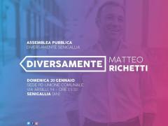 Matteo Richetti a Senigallia
