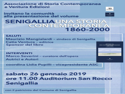 Presentazione libro storia Senigallia