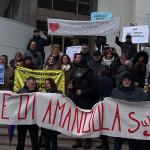 Protesta comitati contro chiusura degli ospedali in Regione Marche