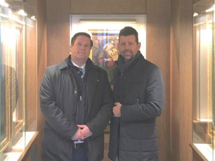 Mangialardi ha incontrato il direttore del Polo museale delle Marche, Peter Aufreiter