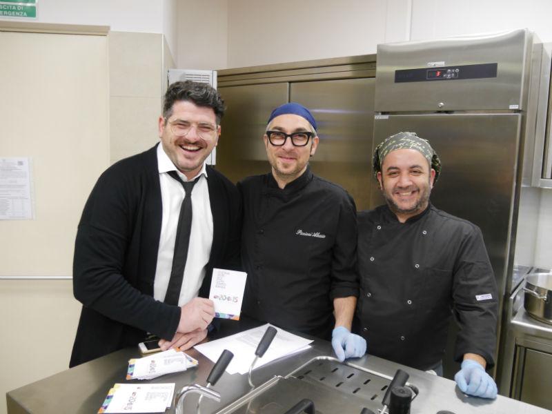 Michele Riccardi, Alessio Piccioni, Andrea D'Elia - Ristorante 20 e 15 Cibo e Vino