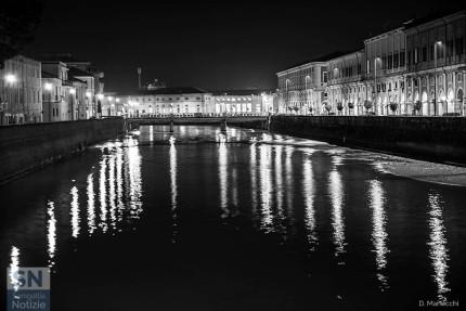 """""""Fiume di notte"""" di Daniele Manocchi"""