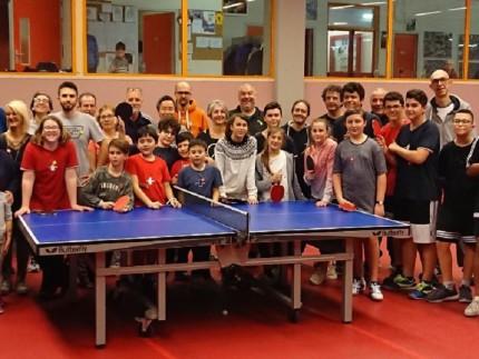"""Iniziativa """"Family PingPong Day"""" di Tennistavolo Senigallia"""