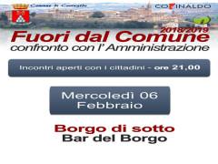 Incontro Sindaco-Cittadini a Corinaldo