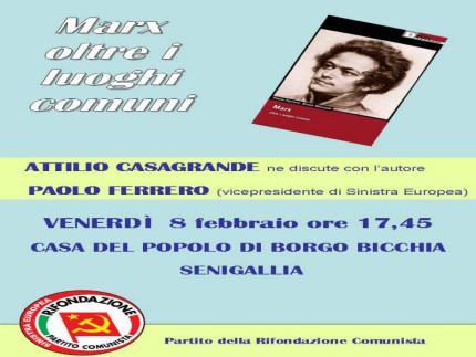 Incontro con Paolo Ferrero a Senigallia