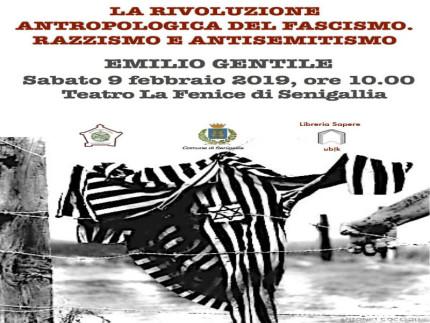 Emilio Gentile ospite a Senigallia