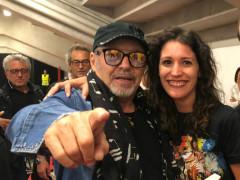 Vittoria Chiarenza con Vasco Rossi