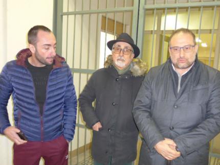 Alan Canestrari, Luigi Rebecchini e Roberto Paradisi