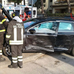 Incidente all'incrocio tra via Pierelli e via del Molinello