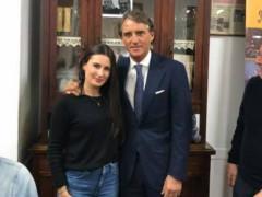 il Ct Roberto Mancini a Senigallia per un evento di beneficenza