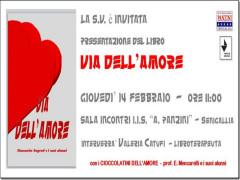 """""""Via dell'amore"""", invito presentazione libro"""