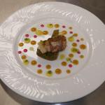 Rana pescatrice in porchetta con carciofi - ricetta Ristorante 20 e 15 Cibo e Vino