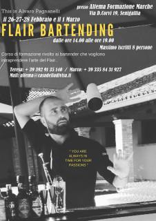 Altema Formazione Marche - Flair bartending con Alvaro Pagnanelli