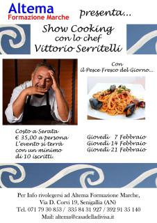 Altema Formazione Marche - Show cooking con Vittorio Serritelli