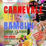 """""""35° Carnevale dei bambini"""" della CRI"""