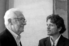 Piergiorgio Branzi con Lorenzo Cicconi