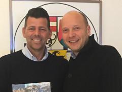 Mangialardi ha ricambiato la visita al collega di San Martino in Badia Giorgio Costabiei