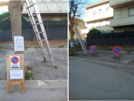 Parcheggi in via Zuccari