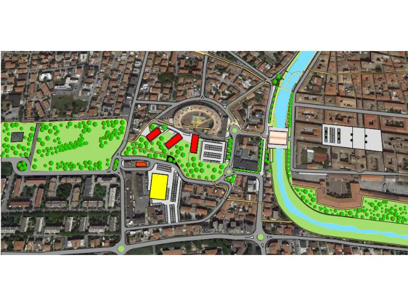 Proposta Supermercato in zona stadio