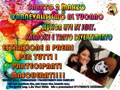 Carnevalissimo - Festa di Carnevale al ristorante - pizzeria Il Tucano di Senigallia