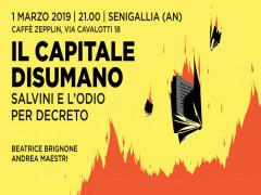 """""""Il capitale disumano"""", libro"""
