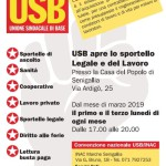 Apre a Senigallia lo sportello USB di assistenza gratuita legale - lavorativa