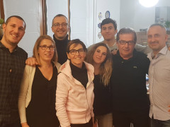 Matteo Ricci a casa Baldassarri