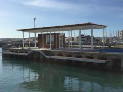Distributore carburante al Porto della Rovere
