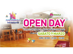 Open Day al Nido Montessoriano Magicabula di Senigallia