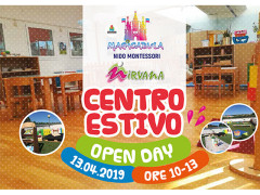 Open Day per il Centro Estivo del Nido Montessoriano Magicabula di Senigallia