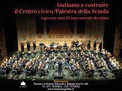 Banda Musicale Marina Militare Italiana in concerto di solidarietà a Senigallia per Pieve Torina