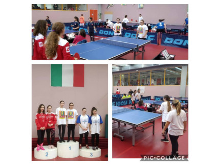 Giada Fossi e Swami Renzi si sono laureate campionesse regionali di tennis tavolo