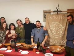 "Matteo Ricci con l'associazione ""Teuta Senones Pisaurenses"""