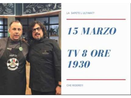 Senigallia ancora in Tv con lo chef Matteo Alessandroni