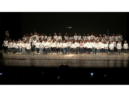 Cento voci in coro: spettacolo della scuola dell'infanzia Aquilone di Senigallia