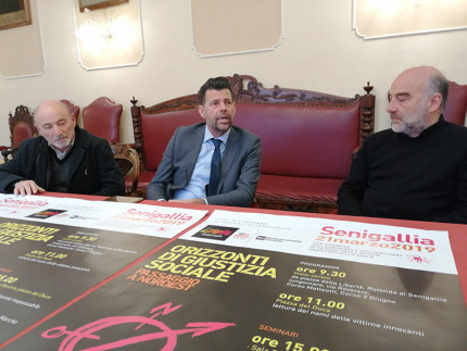 Presentazione a Senigallia della Giornata della Memoria e dell'Impegno in ricordo delle vittime delle mafie