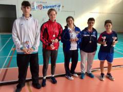 """Successi per il Badminton Senigallia al Gran Prix """"Sabina Cup"""" di Poggio Mirteto (RI)"""