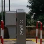 Colonne self service auto elettriche