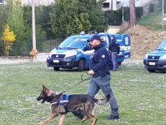 """Il truck della Polizia all'Istituto scolastico corinaldese """"Guido degli Sforza"""" per parlare dei rischi dei nuovi media"""