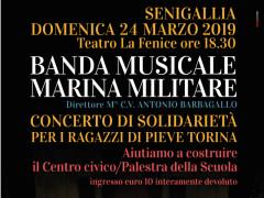 concerto di beneficenza della Banda della Marina Militare