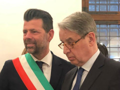 Maurizio Mangialardi e Alexander Avdeev